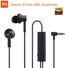Oryginalne słuchawki Xiaomi 3.5mm ANC Hybrid 3 Unit 2 Grade redukcja szumów aktywne słuchawki z redukcją szumów hi res