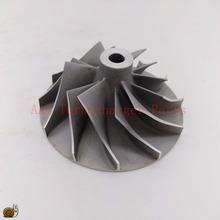 K27 części turbosprężarki koło sprężarki 48 4x76mm dostawca części turbosprężarki AAA tanie tanio QLPT K27 Compressor wheel China In Turbo K27 Turbo wheel 180g Turbo Rebuild K27 Turbocharger Parts