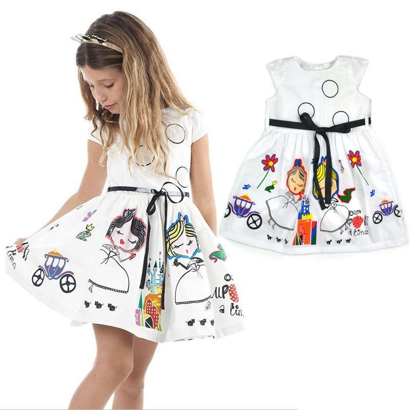 b9a41e04f High Quality teenagers dress big Girl s Clothing New Circle Cute ...