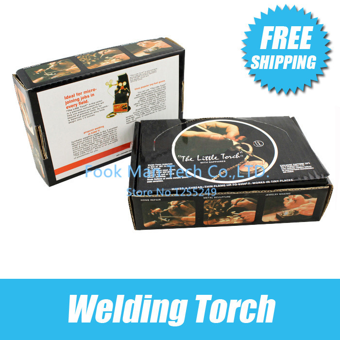 Free Shipping Goldsmith Tool The Little Torch with 5 Tips Jewellery Welding Torch Jewelry Making Tools Promotion 1 pc