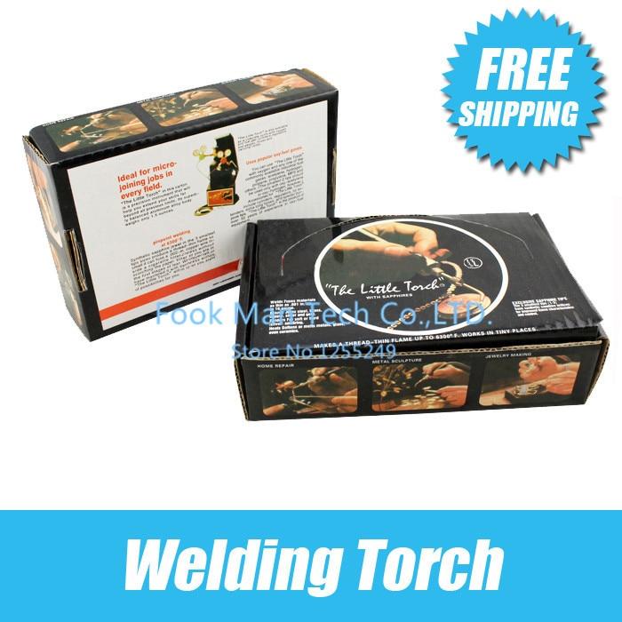 Livraison gratuite outil d'orfèvre la petite torche avec 5 conseils bijoux torche de soudage outils de fabrication de bijoux Promotion 1 pc