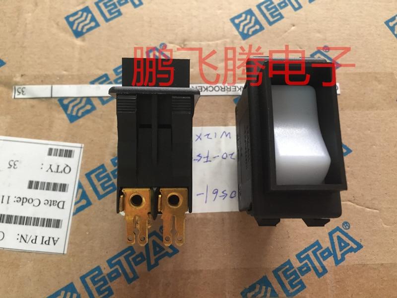 Originele nieuwe 100% 3120 F523 P7T1 W12XY4 8A hoge stroom tuimelschakelaar met LED 4pin 2 gear - 2