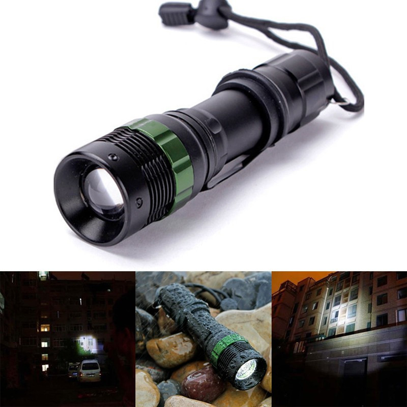 Cree Xml T6 Tactical Flashlight Strong Lumen Pocket Light Adjustable Focus Led Torch Lantern Hunting Hiking Police Lamp xml pocket consultant
