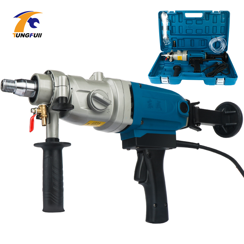 Electric Drill 190mm Diamond Drill With Water Source hand held 1800W Concrete Core Drill 3 Speed