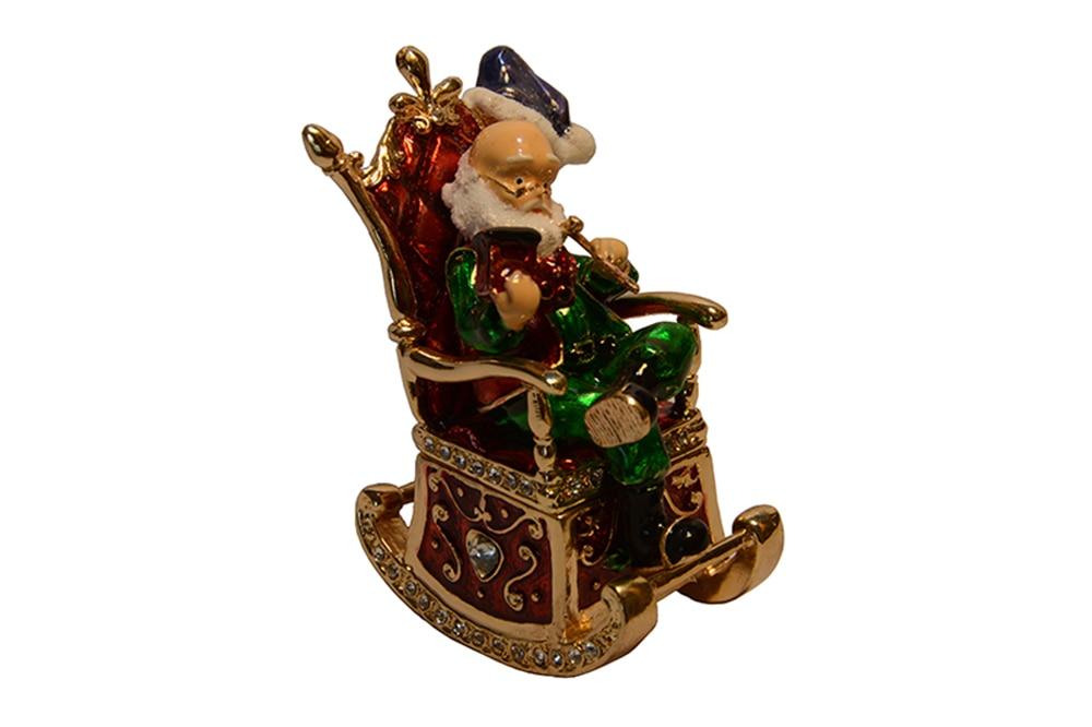 Freies verschiffen Vintage dekoration box Weihnachtsmann Weihnachten ...