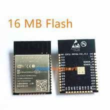 Espressif memoria Flash Original de 16MB, Wi Fi + BT + BLE ESP32, mejor rendimiento RF, ESP32 WROOM 32D