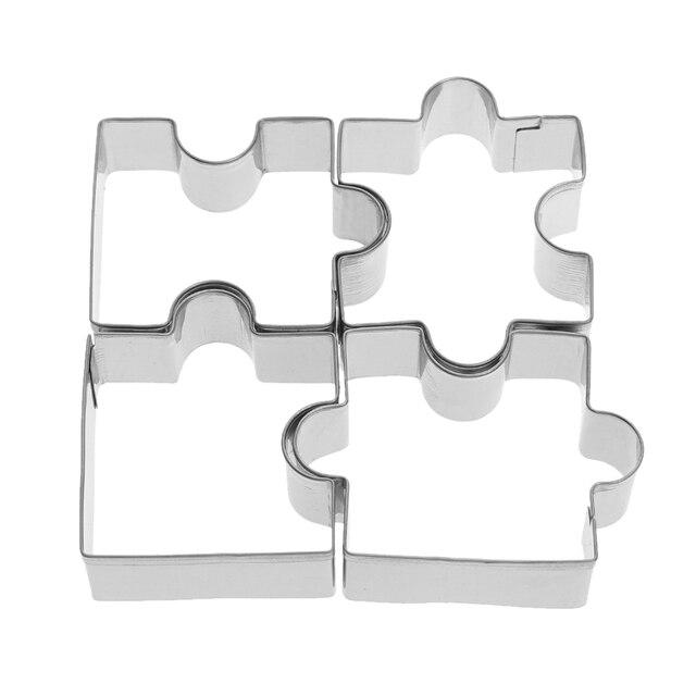 Aliexpress.com: Comprar 4 unids rompecabezas de acero inoxidable ...