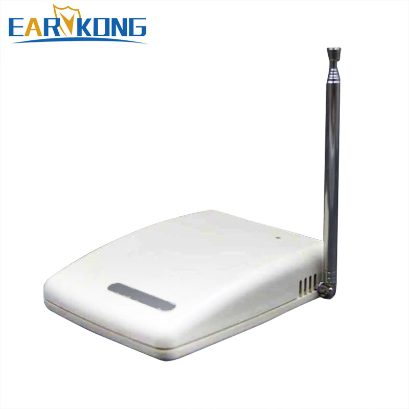 free shipping wireless Signal Repeater Transmitter Enhance Sensors Signal 433MHz Can work for all the 433MHz alarm system 433mhz wireless signal transmitter repeater for focus alarm security system