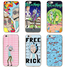 Rick And Morty Phone Case Cover For iPhone XR XS Max 6S 6 Plus 5S 5