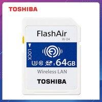 TOSHIBA Flash Air W-04 карта памяти 32 Гб 64 Гб wifi sd-карта 90 МБ/с./с Беспроводная SDHC карта памяти Tarjeta SD wifi sd-карта для камеры