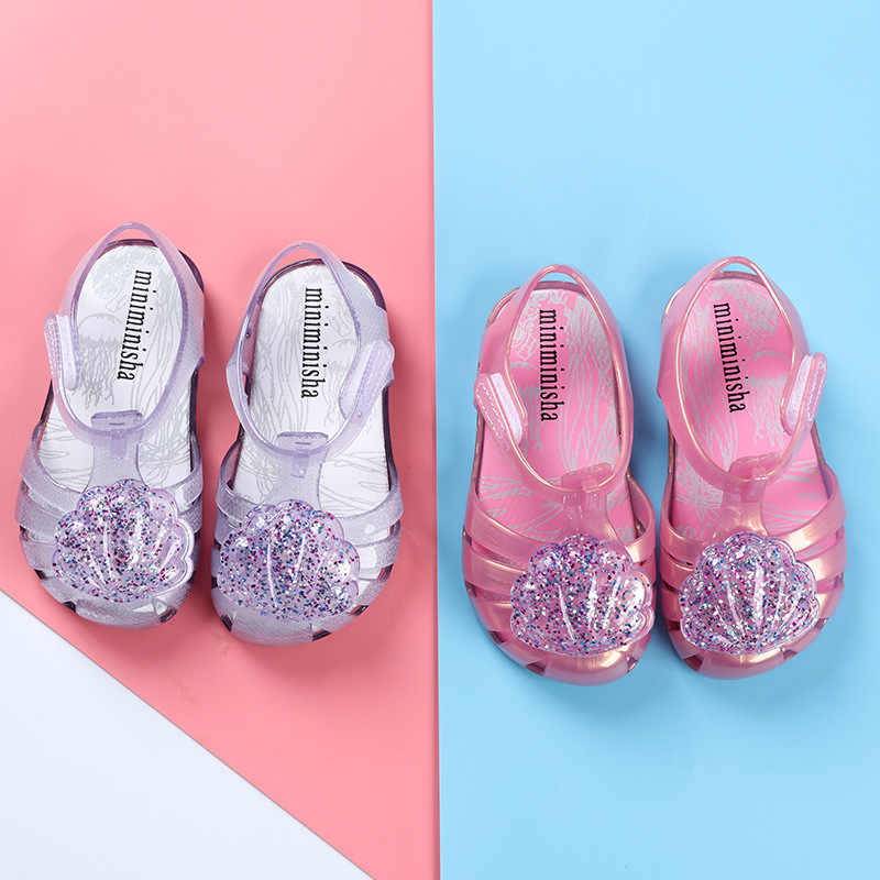 ... Mini Melissa Brand 2019 New Girl Jelly Sandals Roman Girl Sandals  Breathable Melissa Shoes Toddler Sandals ... d92eeffa4