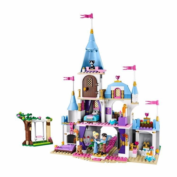 Byggnadsblock Cinderella Romantiska Slott Prinsessan Vänstegrupper - Byggklossar och byggleksaker - Foto 6
