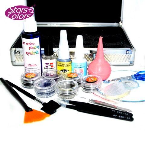 2 Layers Beauty Grafting Salon Makeup Tools False Extension Eyelash Glue Brush Kit Set Eyelashes Women Beauty Make Up Tools Lahore