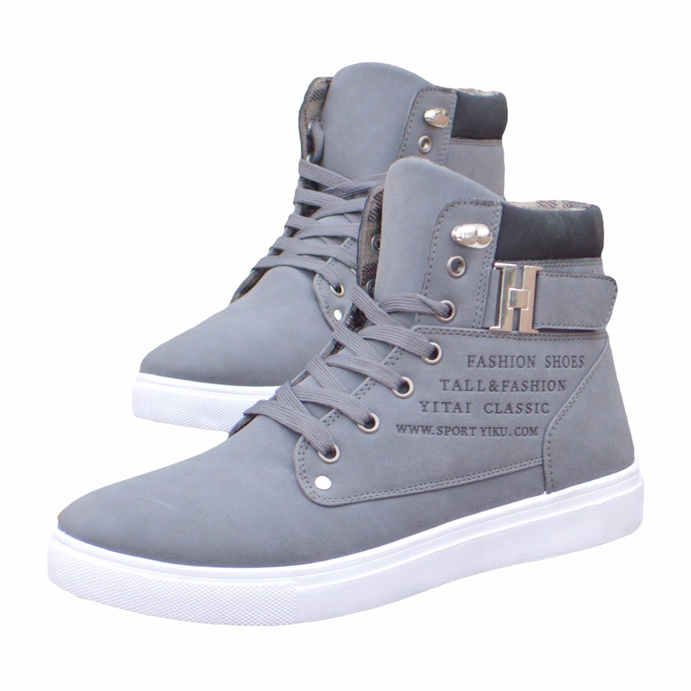 1Pair-New-Brand-Flat-Heel-Men-s-Shoes-Autumn-Winter-Ankle-Boots-Male-Snow-Boots-Casual