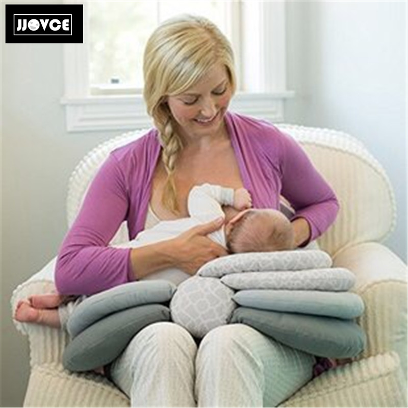 3 white cotton muslins Multipurpose feeding pillow with cover