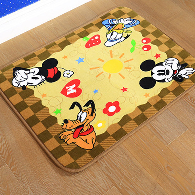 Us 27 5 Baby Bedroom Cartoon Carpet Cut Animal C Fleece Rectangle Area Rugs For Living Room Mat Kid Large Modern Rug In From Home