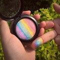 Íris Highlighter Blush Contour Palette Naked Eye Sombra Eyeshadow Palette Shimmer Glitter Em Pó Blush Maquiagem Nude #86471