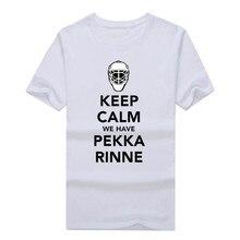 2017  keep calm we-have pekka rinne 35 T-Shirt 100% cotton shirt 10152309