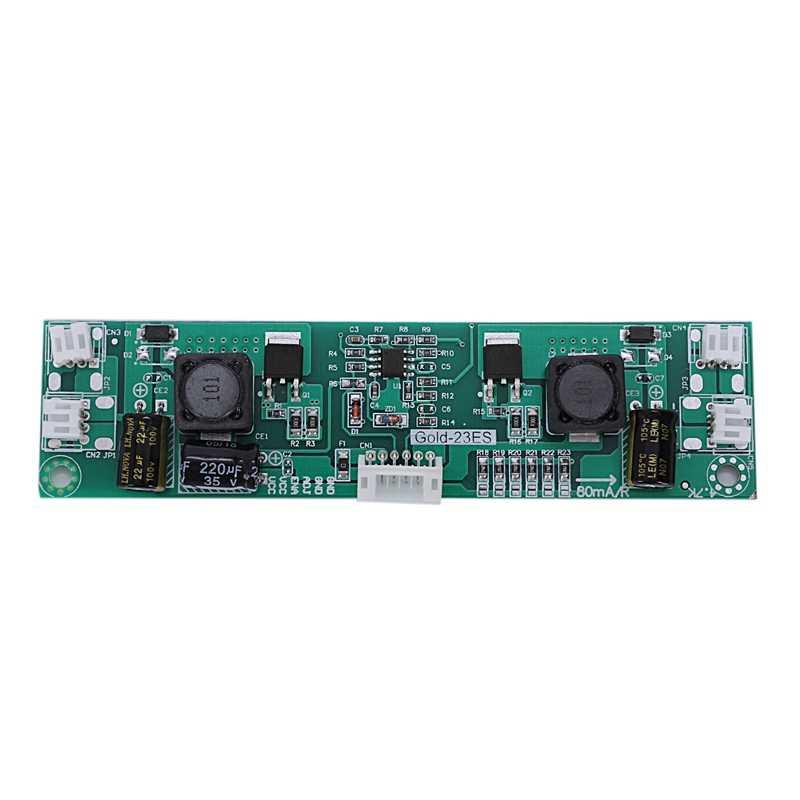 Universal 26-65 Polegada led tv lcd backlight driver placa de tv corrente constante 80-480 ma saída 2 pino plug