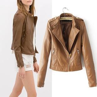 67cd5d7173166 chaquetas de piel marron mujer