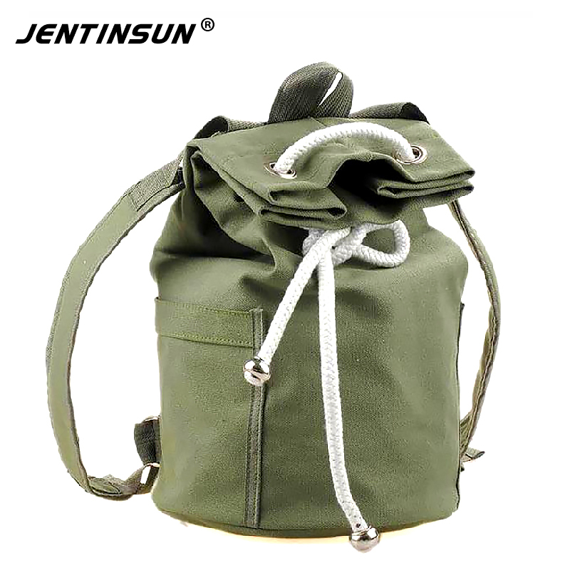 New Canvas Drawstring Bags Backpacks for Teenagers Boys Men's Bucket Bag Portable Big Capacity Backpack Rucksack Bolsa Mochila drawstring bags