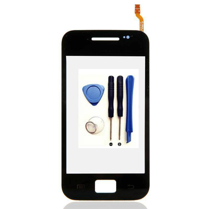 Black Touch Screen Sensor For Samsung Galaxy Ace S5830 S5830i GT-S5830 Window Glass Digitizer Touchscreen Replacement Parts+tool