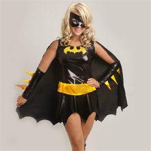 Adult bat girl costume