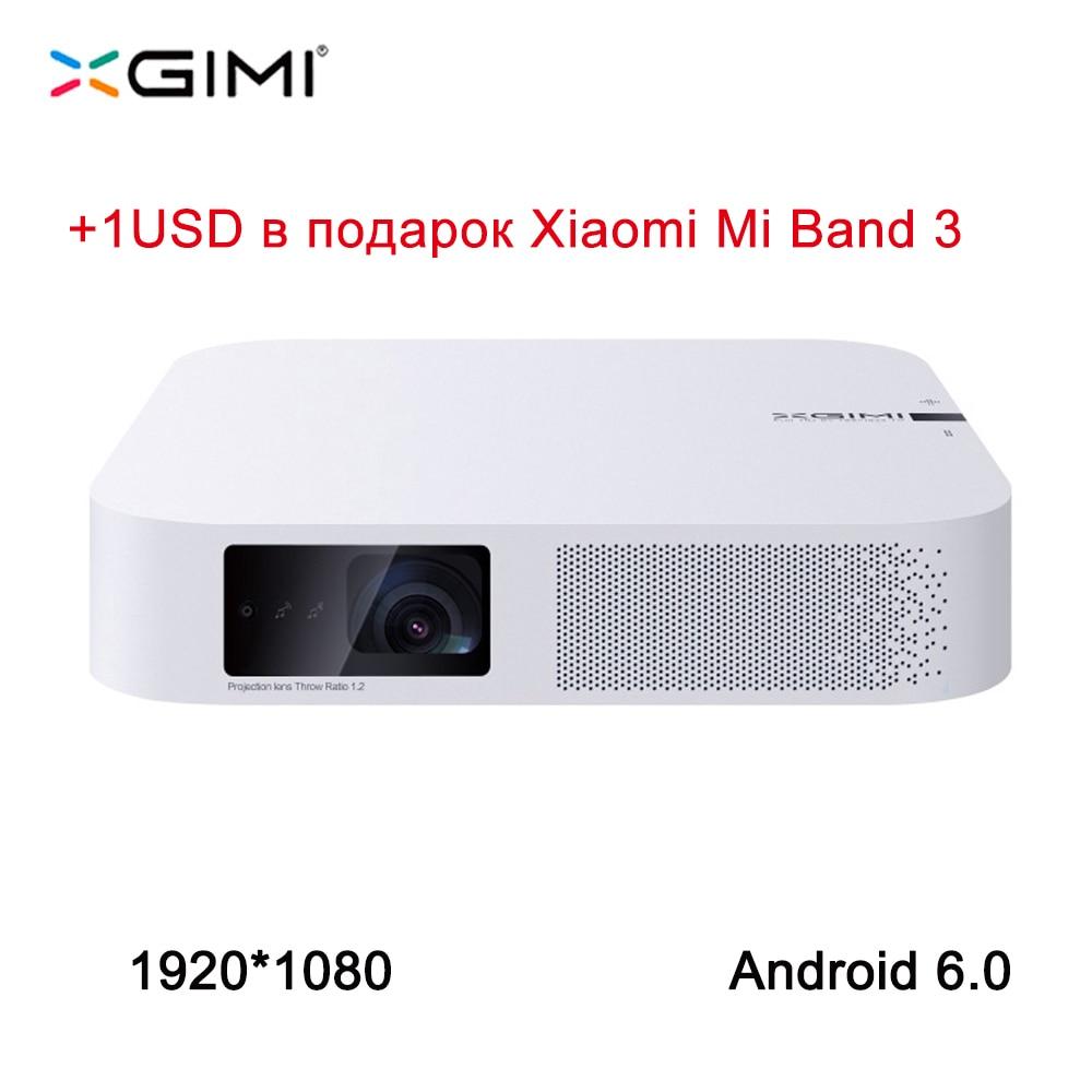 XGIMI Z6 1920*1080 Full HD DLP Mini Projecteur 3D Android 6.0 Wifi Vidéo Maison De Poutre Bluetooth HDMI LED projecteur XGIMI Z4 mise à niveau