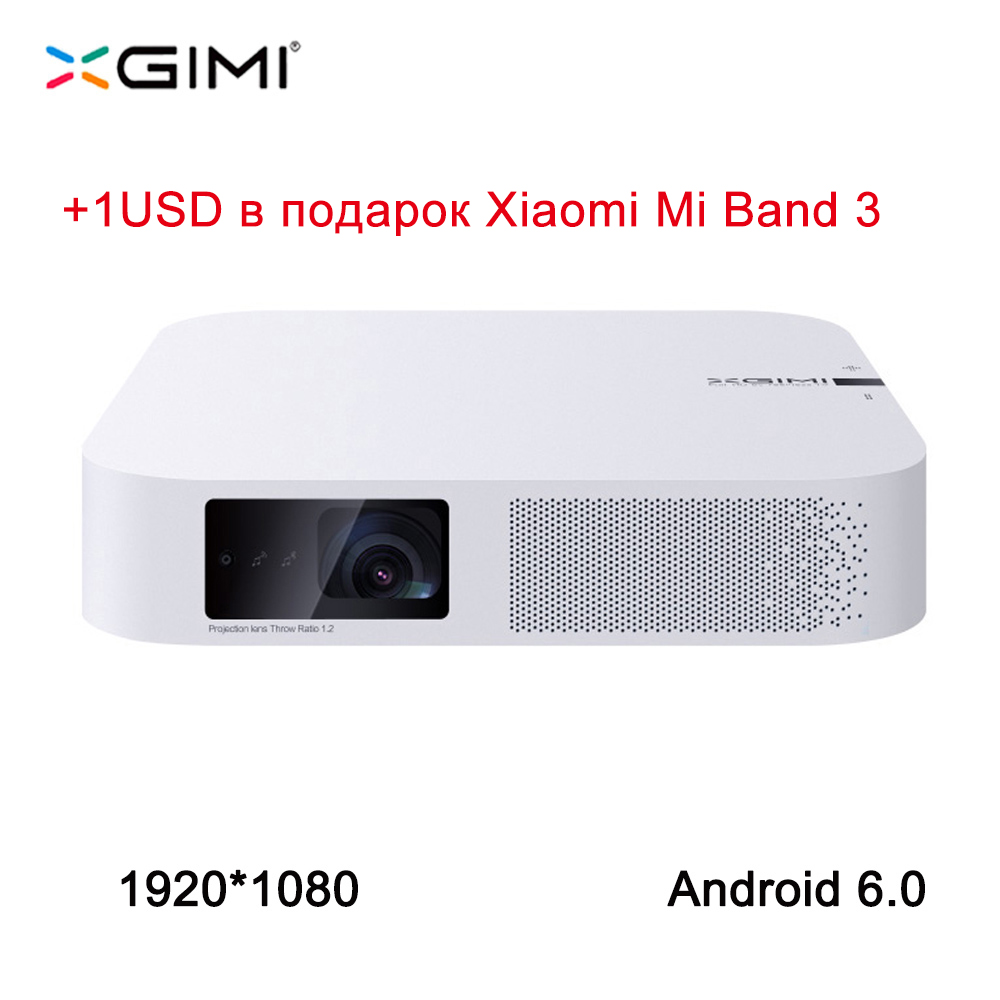 XGIMI Z6 1920*1080 Full HD DLP Mini Projector 3D Android 6.0 Wifi Video Beam Home Bluetooth HDMI LED Projector XGIMI Z4 upgrade
