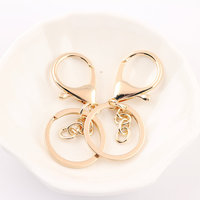 Free Shipping 30 66MM Gold Tone Plated Alloy Metal DIY Jewelry Findings Lobster Clasps Fit Fashion