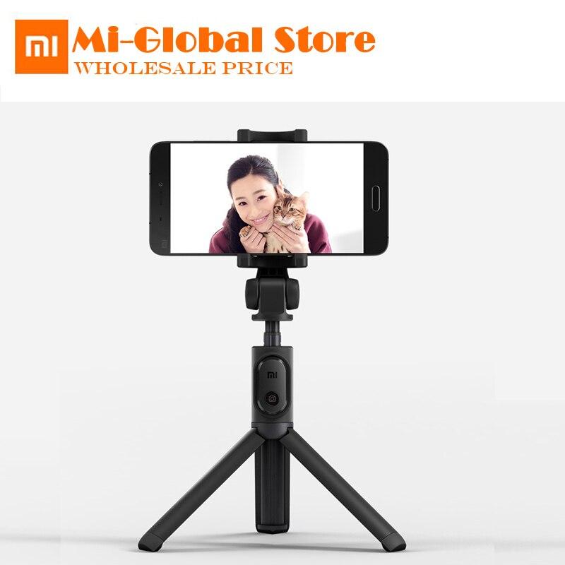 Xiaomi trípode Monopod Selfie Stick Handheld Mini trípode plegable Bluetooth inalámbrico remoto obturador 3 en 1 autorretrato