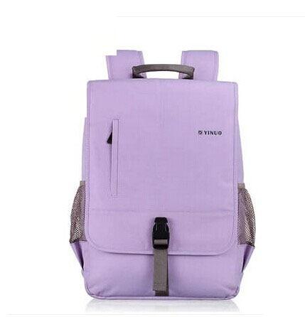 ФОТО High Quality Laptop Backpack Double-shoulder School Bag Laptop Bag Men Notebook Bag Women Travel Backpack Casual Hiking Backpack
