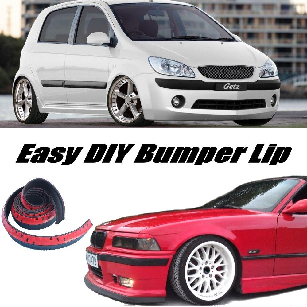 Novovisu Voor Hyundai Getz Prime Klik Tb Brisa Inokom Bumper Lip/voorspoiler Deflector Voor Auto Tuning View/body Kit/