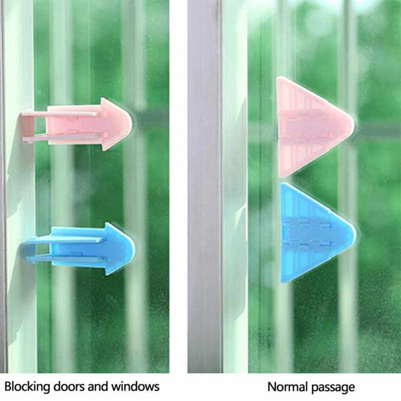 1 Pcs Baby Anti-falling Safety Door Lock Sliding Door Window Wardrobe Stopper Safety Protection Window Stopper