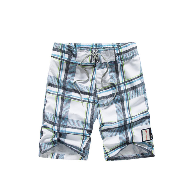 Raise Trust Men's Shorts Beach Summer Casual Print Plaid Fashion Board shorts Couple Swimwear Men Plus Size XXXL Joggers 1617#