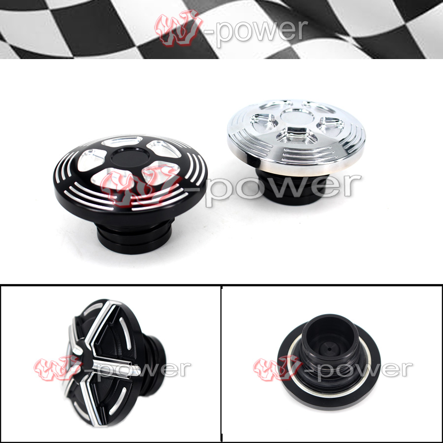 CNC Fuel Tank Gas Cap Cover Fits For Harley Sportster XL 883 1200 2004-2017 mtsooning timing cover and 1 derby cover for harley davidson xlh 883 sportster 1986 2004 xl 883 sportster custom 1998 2008 883l