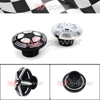 CNC Fuel Tank Gas Cap Cover Fits For Harley Sportster XL 883 1200 2004 2017