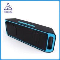 Thinyou mini Portable Wireless Bluetooth 4.0 Speaker outdoor Subwoofer Music Box TF USB FM Radio Dual Bluetooth Speakers
