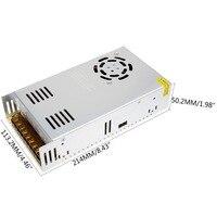 switching power supply 24V 15A 360W single output input LED power supply transformer 220v 110v AC to DC 24V for cctv led light