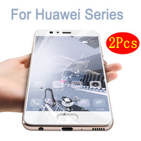 2 PCS Tempered Glass For Huawei P6 P7 P8 P9 P10 Screen Protector For Huawei P9 P10 Plus Lite P8 Mini Cover Protective Films Case