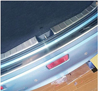 Accessories For Mitsubishi ASX RVR 2010 2015 Stainless Steel Inner Rear Door Bumper Protector sill plate