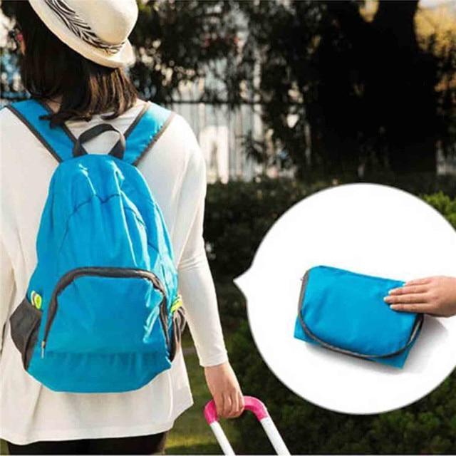 e8083ada2feb Daddy Chen Lightweight Foldable Waterproof Women Men Children Skin Backpack  Travel Outdoor Sports Camping Hiking Bag