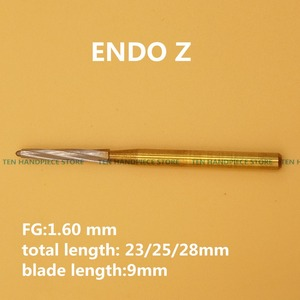 2018 good quality Dental Tungsten Carbide Burs FG Endo Z for Extracting Burs WisdomTeeth 6 pcs