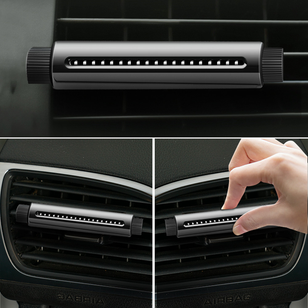 Perfume stick Car Aromatherapy Fragrance Diffuser Air Purifier Oxygen Bar Ozone Ionizer Cleaner Car Styling Accessory New