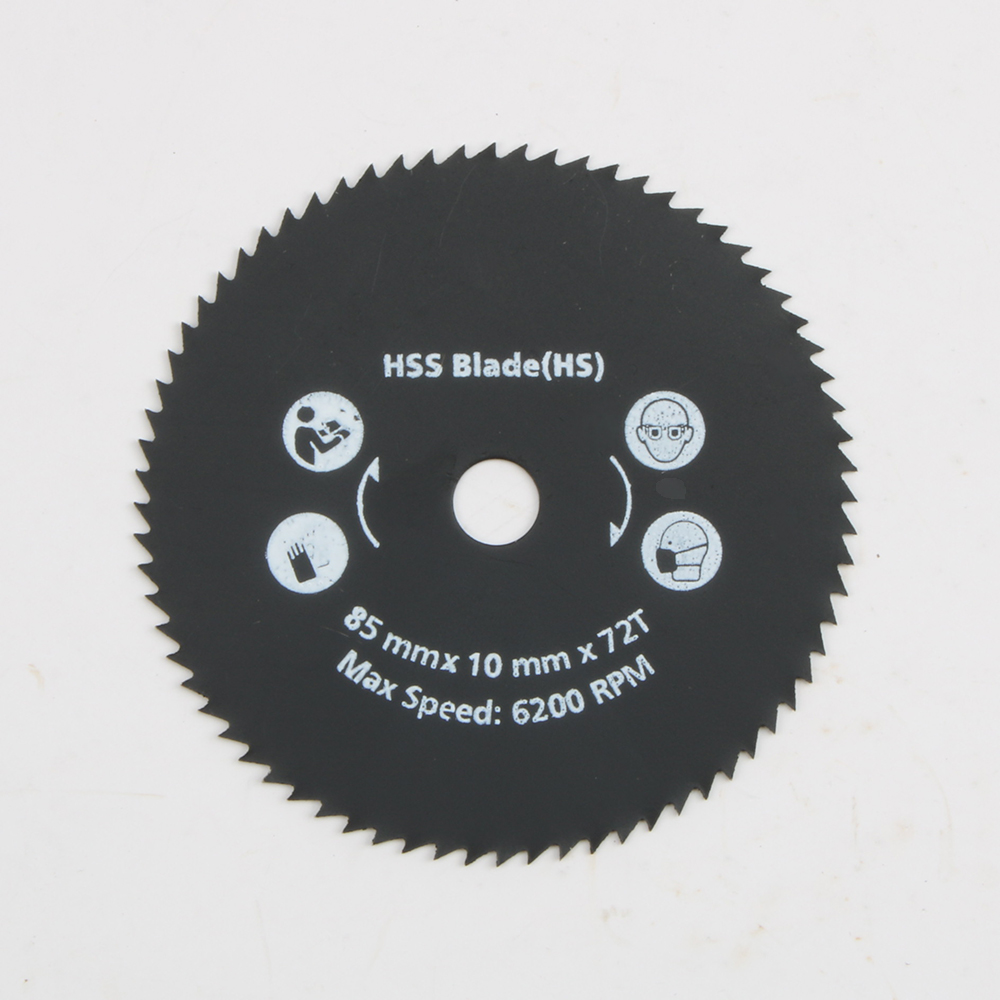 Newest 1PC 85mm 72T HSS  Mini  Circular Saw Blade Cutting Disc Wheel For  Wood Metal Working Tools Hot Sale LUBAN