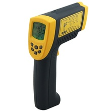 Smart sensor Digital infrared thermometer -18~1350C (-58~2282F) AR872+ IR Laser Point Gun non contact Infrared Thermometer цена