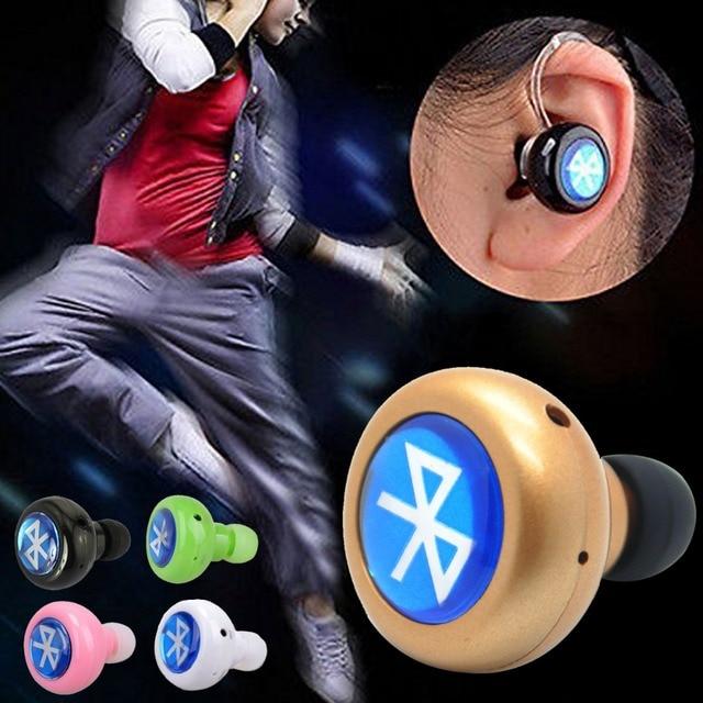 Hot Selling Stereo Wireless Bluetooth Mini Headset Earphone Headphone For iPhone Samsung Xiaomi Sony