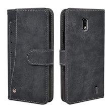 Luxury Wallet Case For Nokia 2.2 2.3 3.2 4.2 6.2 7.2 1.3 5.3 8.3 2.4 3.4 Case Vintage Flip Leather Business TPU Silicone Cover