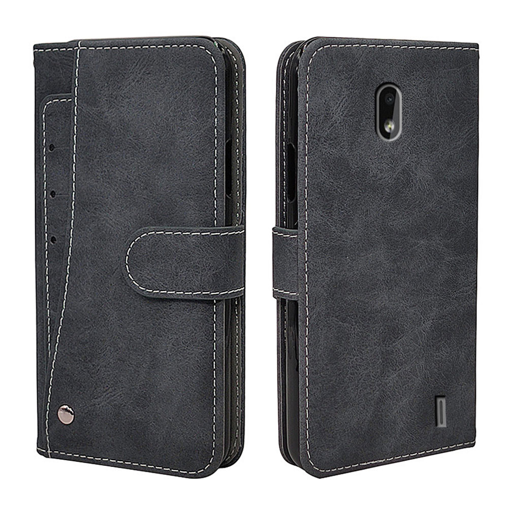 Luxury Wallet Case For <font><b>Nokia</b></font> 2.2 3.2 4.2 6.2 7.2 <font><b>X71</b></font> Case Vintage Flip Leather Business TPU Silicone Cover With Card Slot image
