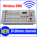 Hot Sell 240 Diso Wireless DMX Controller Wireless DMX 512 DJ Console Equipment For Stage Wedding And Event Lighting